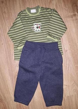 К-т теплый для малыша 6-9 месяцев