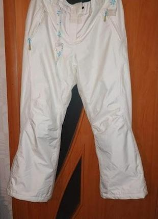 Шикарні фірмові лижні штани. стан ідеальний. розмір 16-18