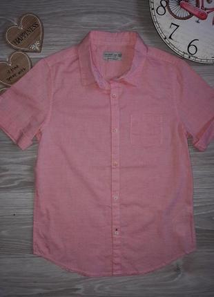👌zara отличного качества рубашка 9-10 л 140 см