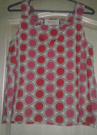Брендовая стильная майка, блуза