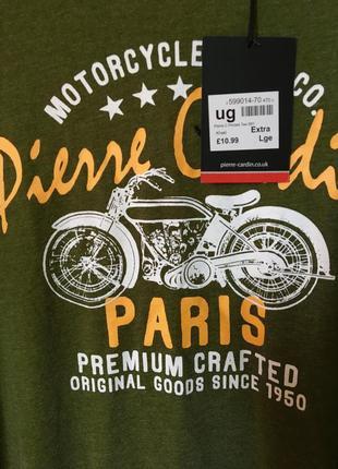 Pierre cardin мужская футболка в наличии размер хл англия оригинал5