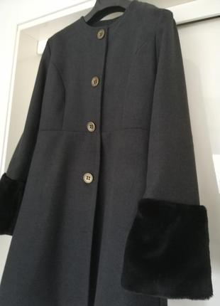 Пальто графит италия