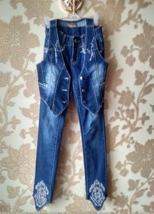 Продам джинсовый комплект