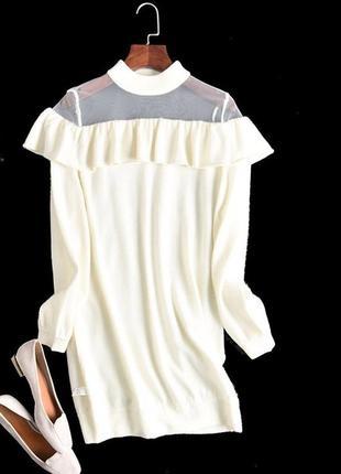 Туника - платье красивое теплое