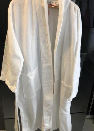 Стильный флюсовый халат большого размера