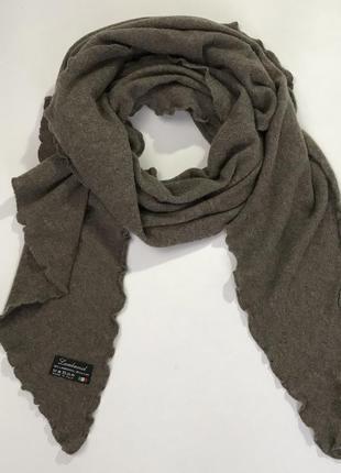 Made in italy! шерстяной шарф из шерсти ягненка.