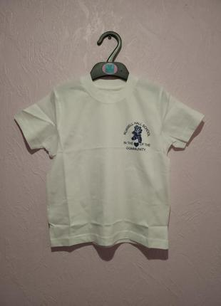 Белая футболка англия
