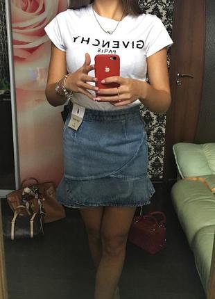 Трендовая джинсовая юбка denim co