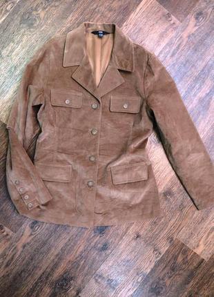Стильный велюровый пиджак жакет тренч