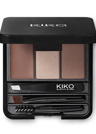 Палітра для брів kiko eyebrow expert palette