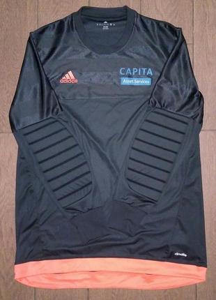 Adidas вратарская футбольная форма футболка