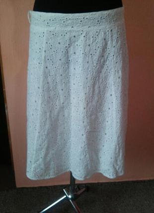 Натуральная летняя красивая юбка раз.16