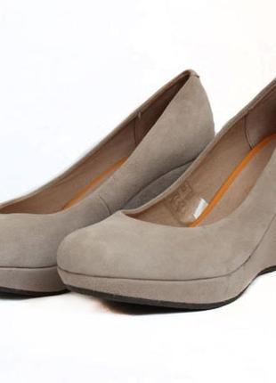 Замшевые туфли roberto santi. стелька 23,5 см