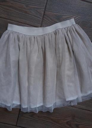 Пышная юбка gap на 10лет 140см в идеальном состоянии