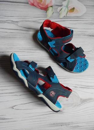 Бомбезные, суперские сандали от timberland оригинал.  размер 39. стелька 25см