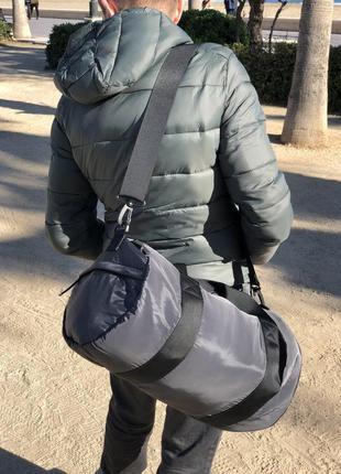 Мужская сумка bershka /спортивная сумка /сумка в зал