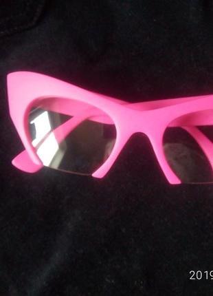 Розовые имидживые очки с розовой оправой как у сони плакыдюк