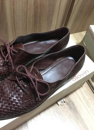Туфли броги дерби лоферы