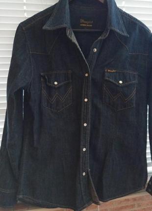 Оригинальная джинсовая рубашка wrangler