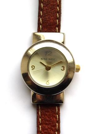 Nine west 9w/1365 миниатюрные часы из сша мех. ronda swiss parts