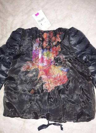 Гламурная куртка для девочек эксклюзив