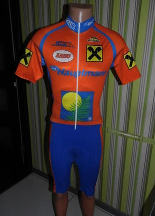Велокостюм для мужчины - m - италия - сток!!!