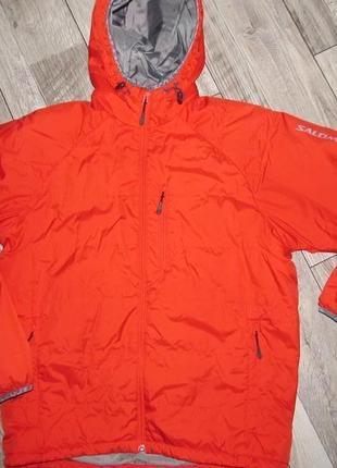Демисезонная куртка  salomon primaloft  р. l - маломер! смотрите замеры!!!