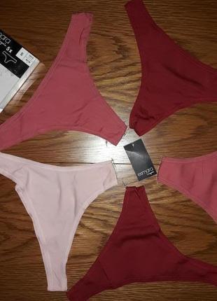 Стринги esmara lingerie.набір 5шт.s.m.l