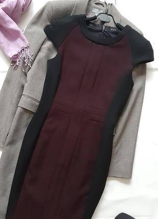 Элегантное платье по фигуре, платье миди офис-стиль