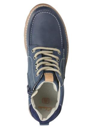 Демисезонные ботинки clarks для мальчика