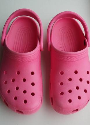 Кроксы, шлёпанцы crocs оригинал, 40 размер, 25,5 см.