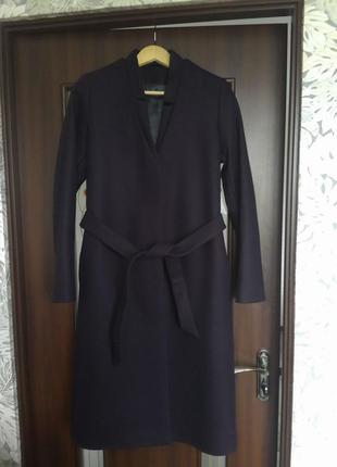 Красивое стильное шерстяное пальто & other stories