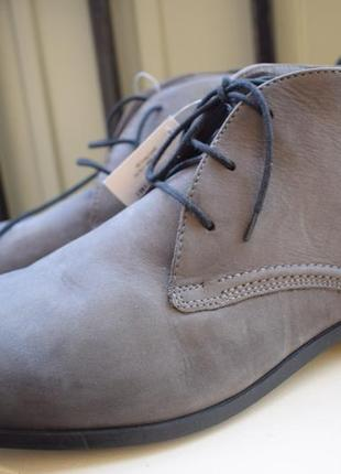 Кожаные ботинки venturini р.46 р.11 вентурини демисезонные полуботинки