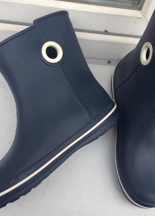 Резиновые сапоги crocs jaunt shorty boot4