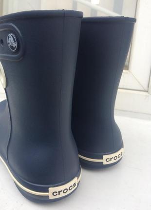 Резиновые сапоги crocs jaunt shorty boot6