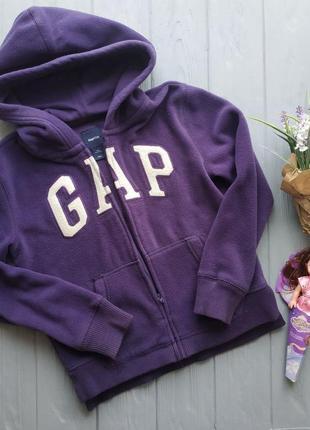Флисовая плотная кофта на девочку 8-9лет, gap