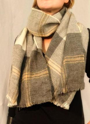 2482/50 мягкий серый шарф atmosphere