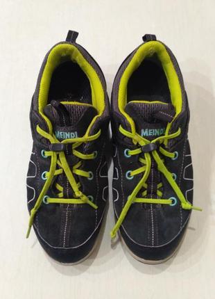 Замшевые кроссовки meindl3 фото