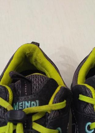 Замшевые кроссовки meindl6 фото