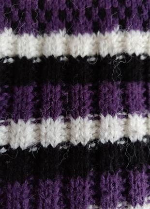 Очень классное зимнее вязаное платье3 фото