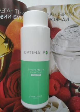 Матирующий тоник для жирной кожи optimals hydra 150мл