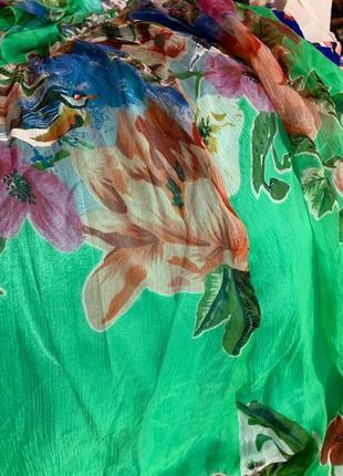 Шёлковое платье 100%  цвет насыщеннее ! см доп фото6