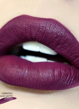 Матовая жидкая стойкая помада golden rose longstay liquid matte lipstick 28