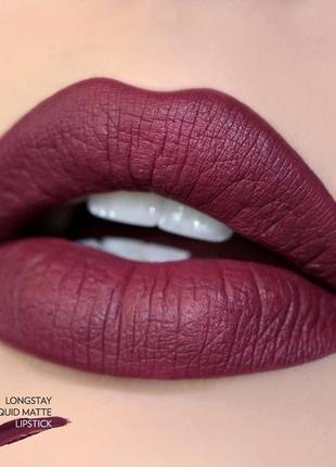Матовая жидкая стойкая помада golden rose longstay liquid matte lipstick 29