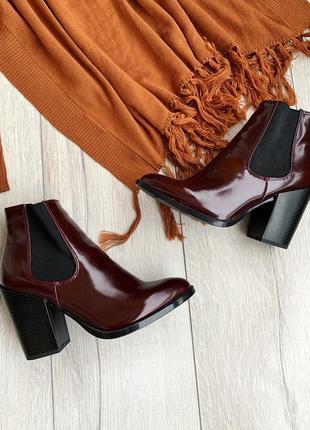 Ботильоны, черевики,ботинки екошкіра the shoes