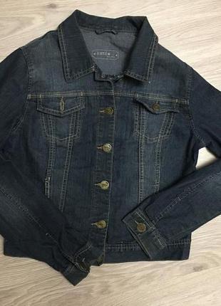 Джинсовый пиджак при покупки от 3х вещей доставка укр.почтй бесплатно.