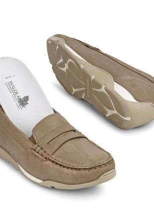 Слипоны лоферы мокасины ортопедическая обувь класса комфорт waldläufer