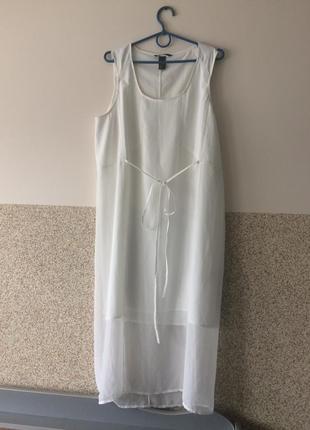 Шикарное платье -сарафан