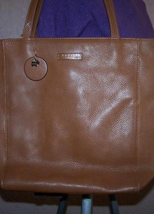 Большая сумка пакет radley 100%кожа