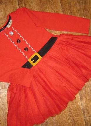 Нарядное платье для малышки + подарок ободок